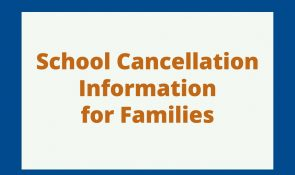 School cancellation info